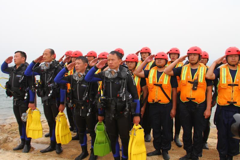 南阳市消防支队积极开展防汛抢险应急演练