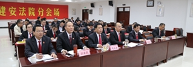 """许昌市建安区""""党规党纪进基层""""宣讲活动在区法院举行"""