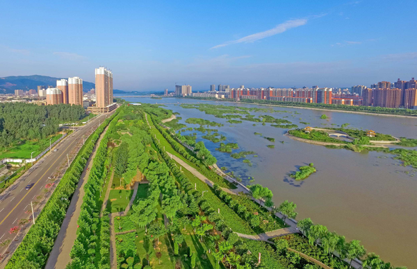 宜阳:科学打造宜水新城 群众乐享水清岸绿