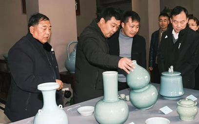 瓷器在说话 南北青瓷对话交流展在宝丰县开幕