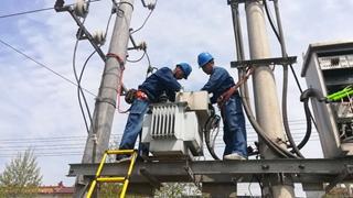 长葛市供电公司:农网改造送光明