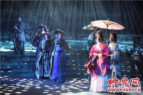 河南经贸职业学院大型原创历史话剧《商圣范蠡》成功首演