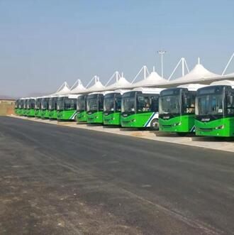 5月15日起汝州市公交车全部恢复运营