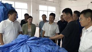 西平县领导到产业集聚区走访调研
