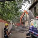 南阳宛城区仲景街道:拆除已征收房屋5600平方米