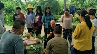 国有襄城县林场组织开展苗木嫁接技术培训