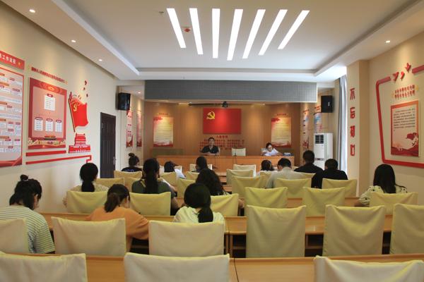 偃师市人民检察院召开书记员培训会议