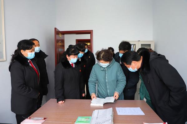 河南省高院领导到郏县调研指导法庭工作