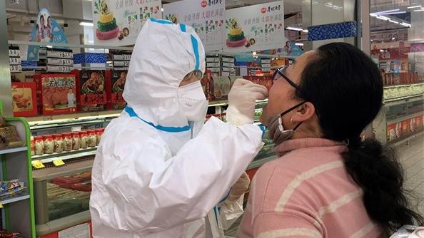开封示范区市场监管分局加大冷链核酸检测力度