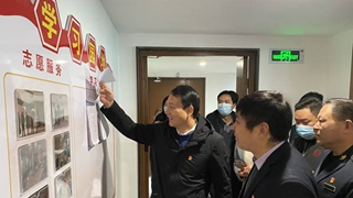 宛城区泥营社区云镜联合党支部举行揭牌仪式