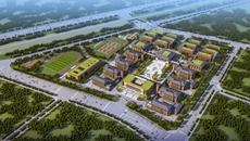 孟津县新区高中雏形初现