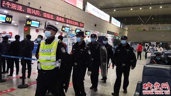 南阳机场警方重拳出击严打违法犯罪  筑牢春运安全防线