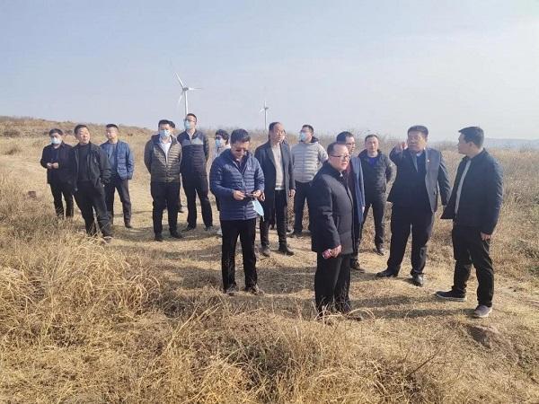 现代种业发展基金有限公司就红牛产业合作事宜到郏县考察调研