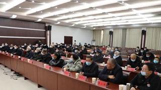 平舆县2021年老干部迎新春座谈会召开