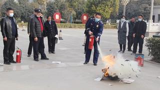 长葛市法院开展消防安全知识培训