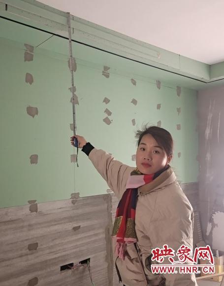 新房房顶出现凹陷下沉 住建局:将督促鉴定维修