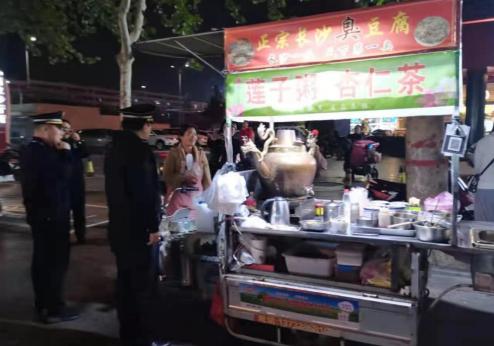 郑州市上街区城管局开展垃圾分类宣传活动