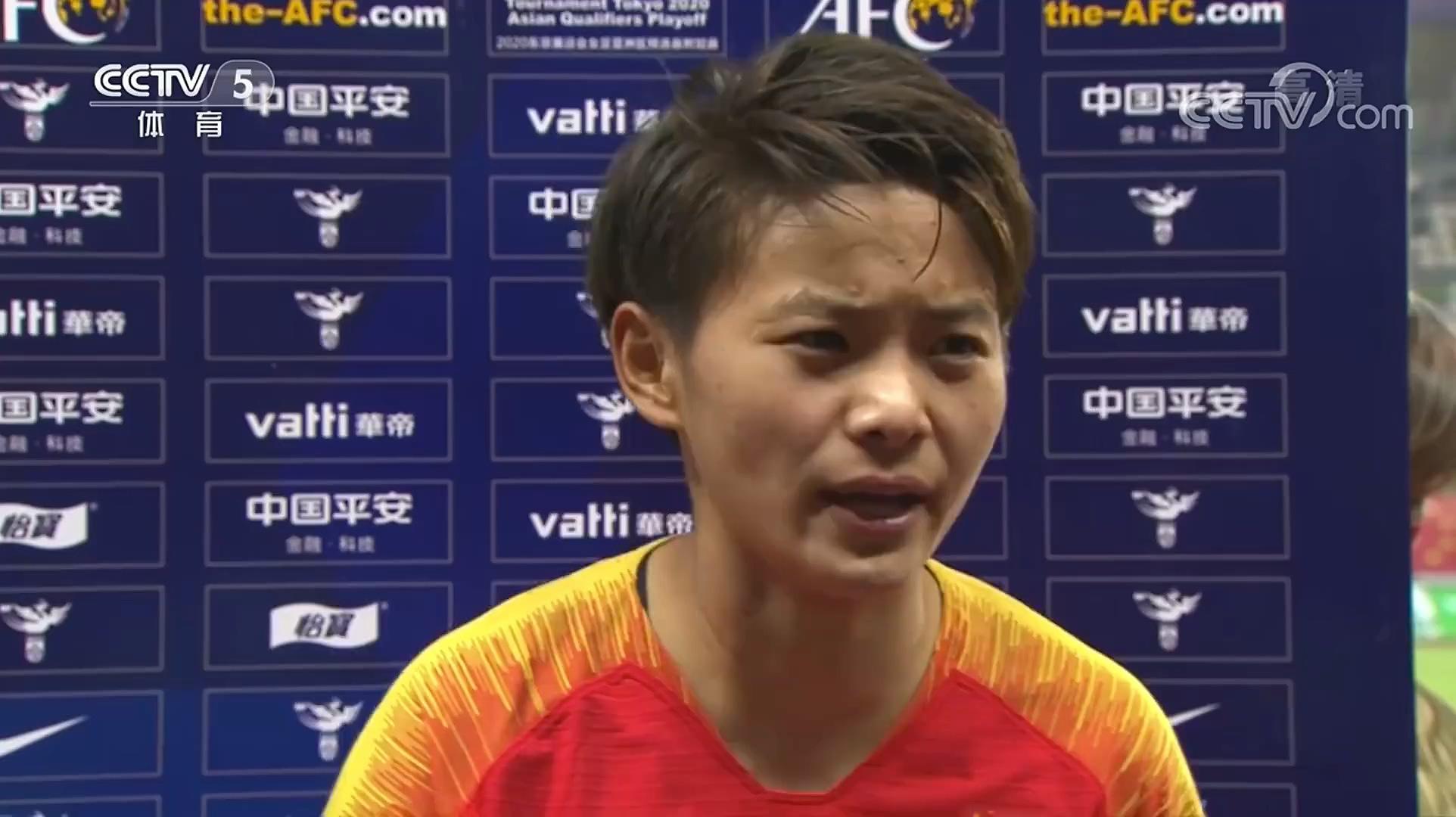 王霜:从未放弃进东京奥运