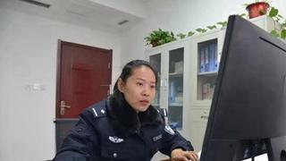 洛宁民警赵彩灵诠释新时代女警风采