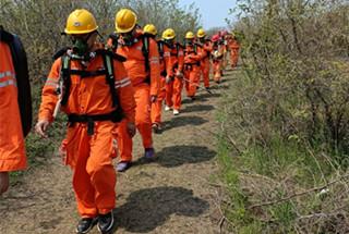 汝州市煤监局矿山救护队掀起春季应急训练高潮