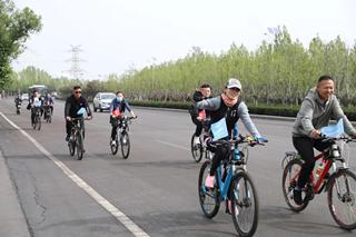 汝州骨科医院举办骑行活动庆祝建党100周年