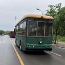 汝州市新增10台新能源仿古铛铛车