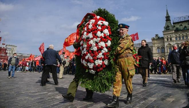 俄罗斯纪念列宁诞辰151周年