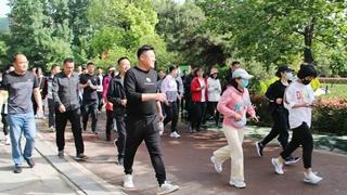 禹州市自然资源和规划局举行健步走竞赛活动