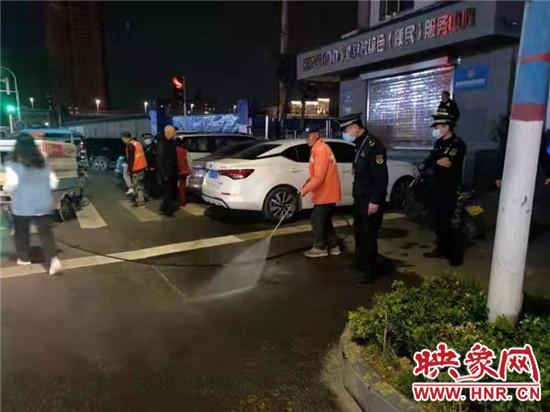 郑州市管城区城管局积极倡导清明节文明祭扫