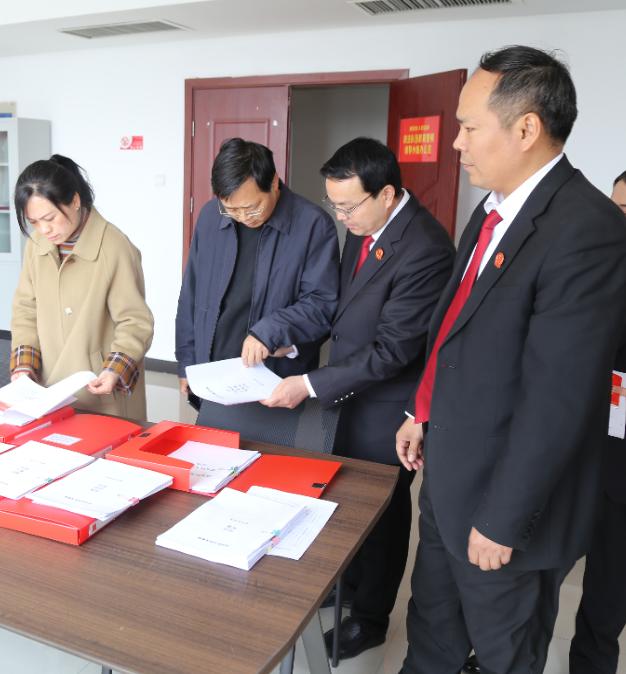 许昌市建安区政法委副书记孙新民调研指导教育整顿工作