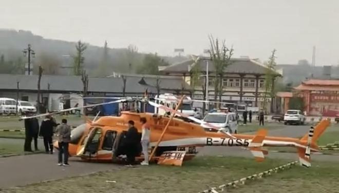 灵宝一观光直升飞机坠落,机上2人受伤,该旅游项目还在试运营阶段