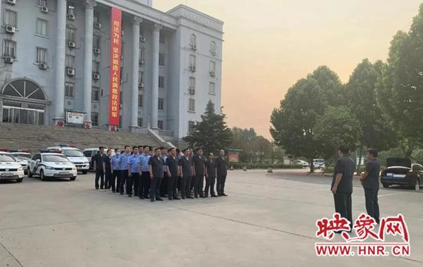 洛阳偃师区人民法院第十次集中执行行动拘传15人