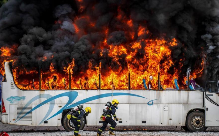 全国消防刑侦火灾调查联合演练比武在云南举行