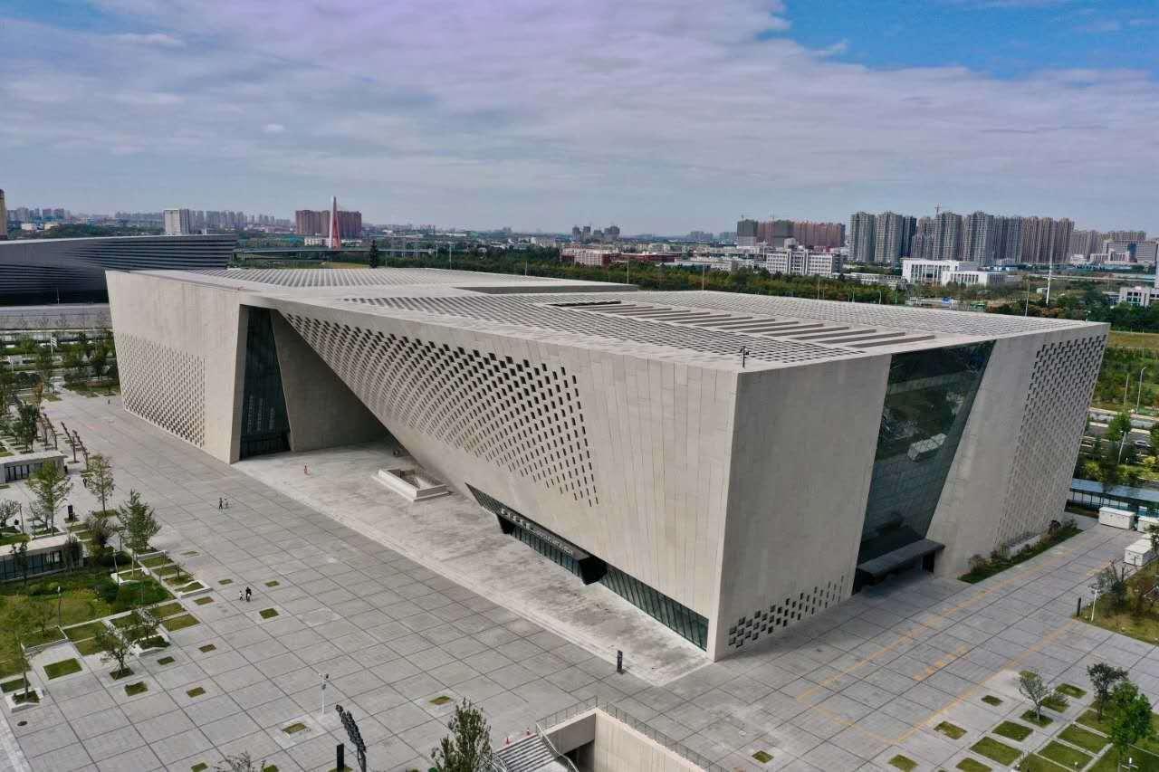 郑州美术馆新馆10月25日起免费对市民开放