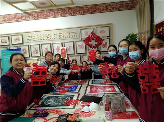 郑州市第五十八中学:非遗与社团携手 绽放时光深处的美