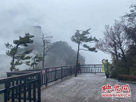 南阳市2020年第一场雪已送达 网友:可以玩雪了