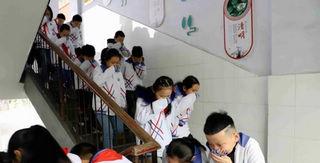 邓州市城区三小举行消防演练活动
