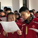 内乡县考察组到林州市世纪学校参观考察