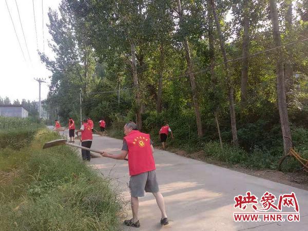 鲁山县库区乡:大力开展人居环境再提升活动