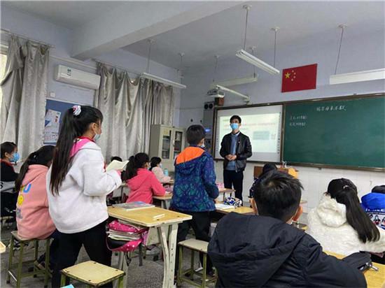 郑州市管城回族区小李庄小学举行公开课展示活动