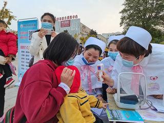 """""""有爱有未来""""商丘市中心医院举办世界早产儿日主题活动"""