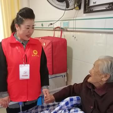 固始县住房公积金管理中心为农村老人送温暖