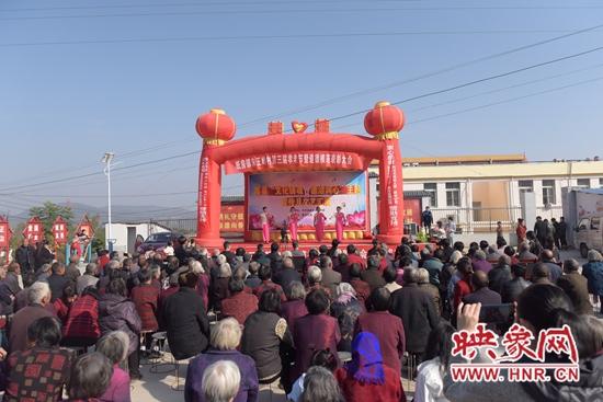 """嵩县举行""""文化铸魂 德治润心""""主题宣传月文艺汇演活动"""