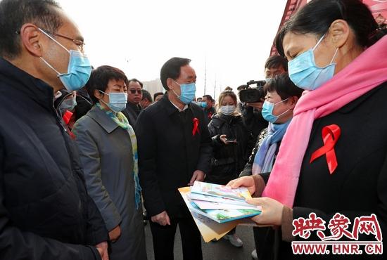 郑州市多策并举积极构筑艾滋病防控坚实防线