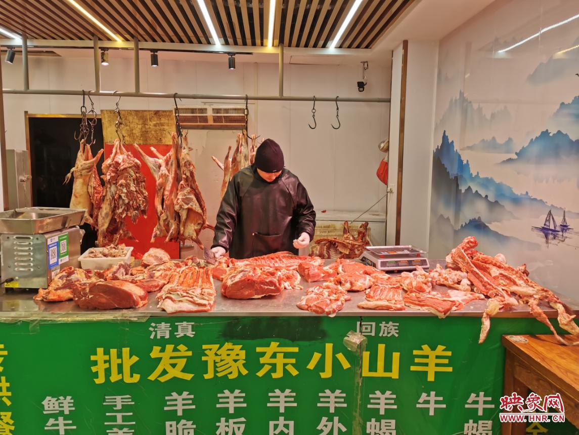 郑州羊肉价格持续走高 比去年同期增长近10元