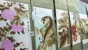 南阳市卧龙区举办烙画技能大赛