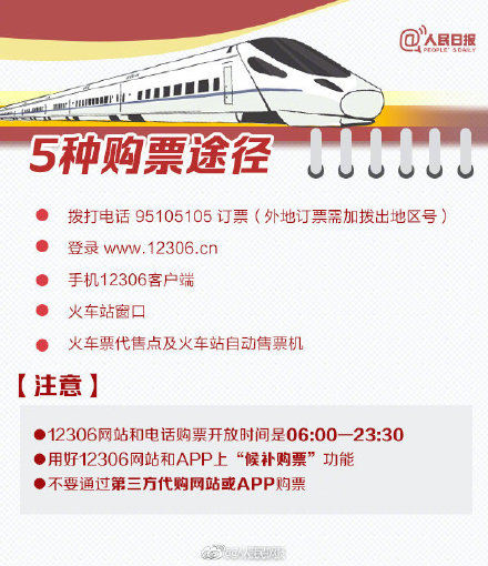 春运火车票明起正式开抢 春节你回家吗?