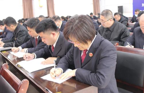 许昌市魏都区检察院开展宪法知识考试