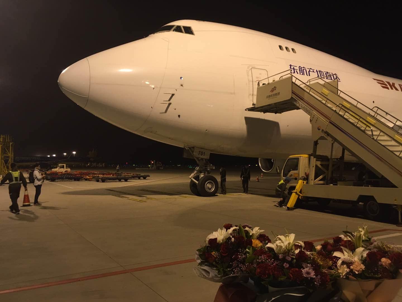 东航产地直达郑州-南北美定期生鲜航班正式开通