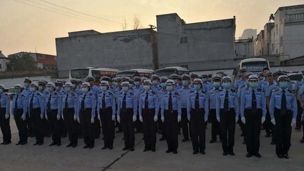 遂平县公安局交警大队开展岗位练兵活动